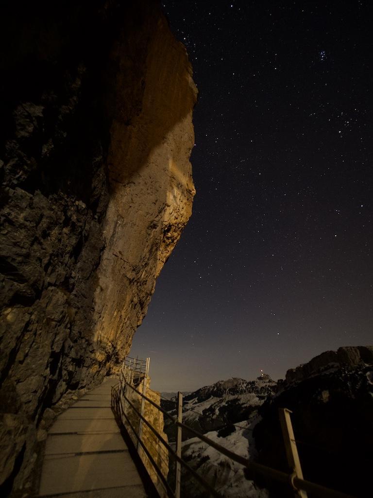 Der Weg zum Berggasthaus