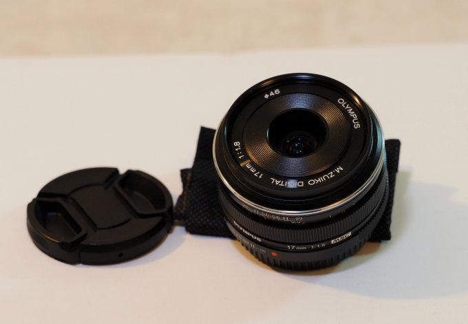 Objektiv 17mm/1.8