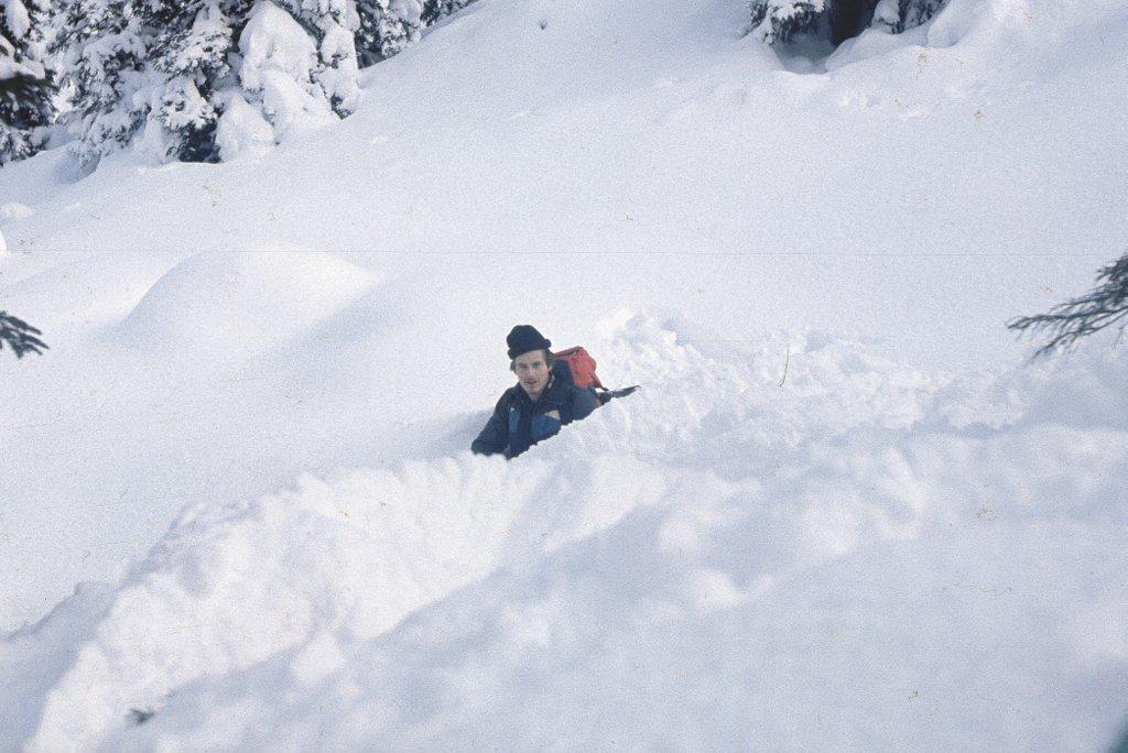 Viel Schnee…